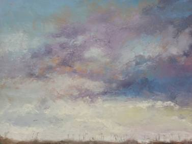 Clouds # 2 Maud Simmons United States Painting Size: 22 H x 30 W x 0 in