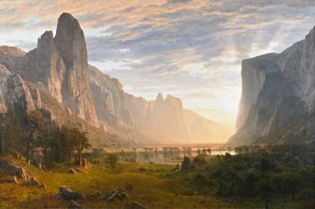 Bierstadt_Looking_Down_Yosemite_Valley